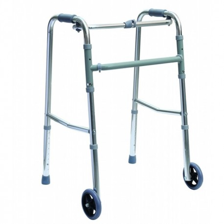 Cadru ortopedic echipat cu roti frontale