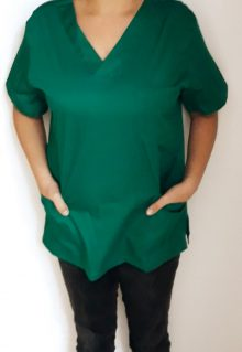 Bluza costum medical, verde