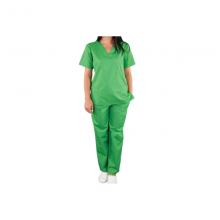 Pantalon pentru costum medical, verde