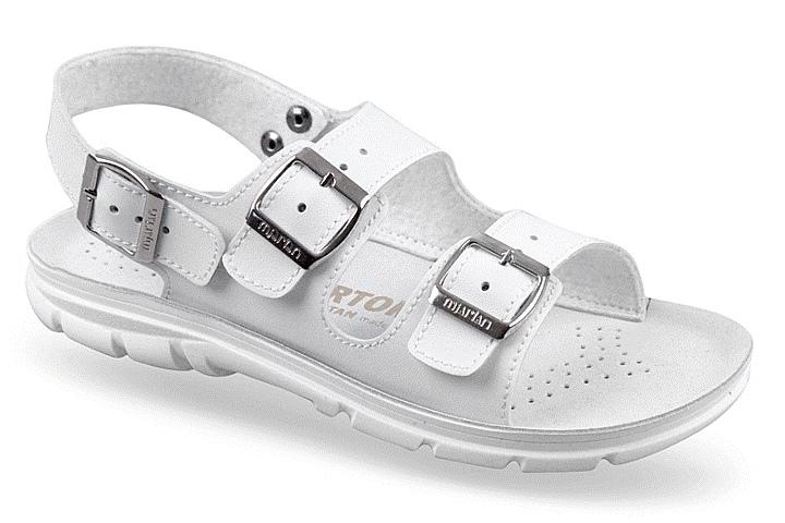 Sandale ortopedice cu trei barete pentru femei