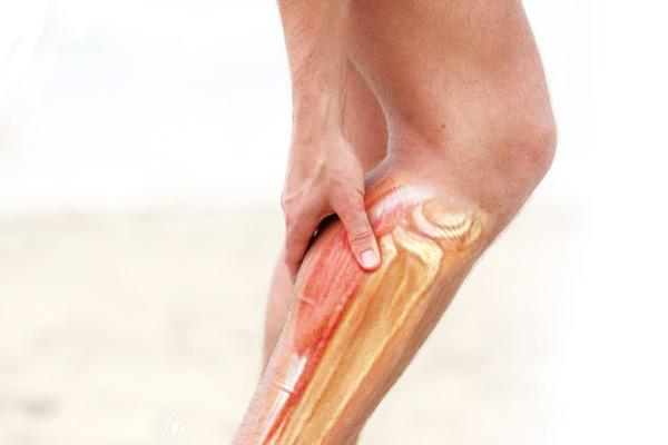 a scăzut piciorul muscular)