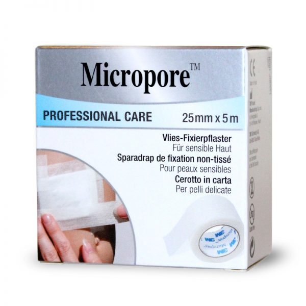Banda adeziva Micropore 2,5cm x 5m