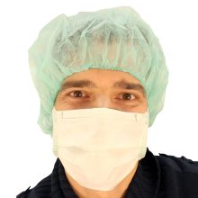 Bonete medicale de unica folosinta verzi