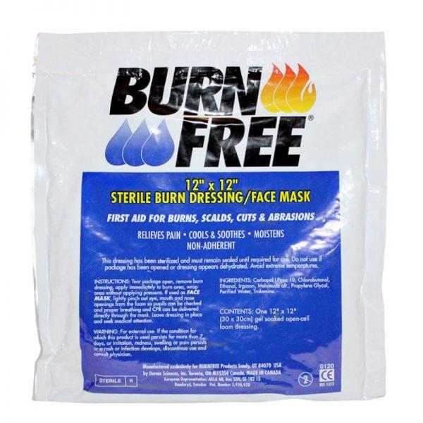 Burn Free Gel pentru arsuri-Compresa sterila 10x10cm