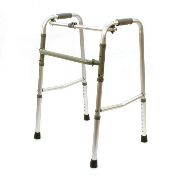 Cadru ortopedic pliabil pentru mers
