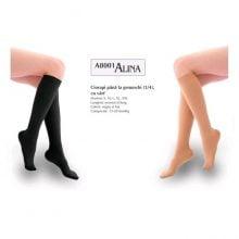 Ciorapi compresivi medicinali pana la genunchi 15-20mmHg