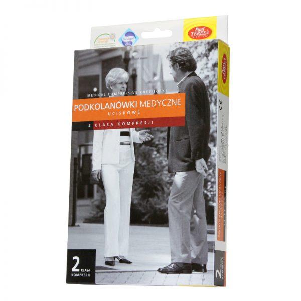 Ciorapi medicinali compresivi cu varf inchis pana la genunchi 23-32 mmHG