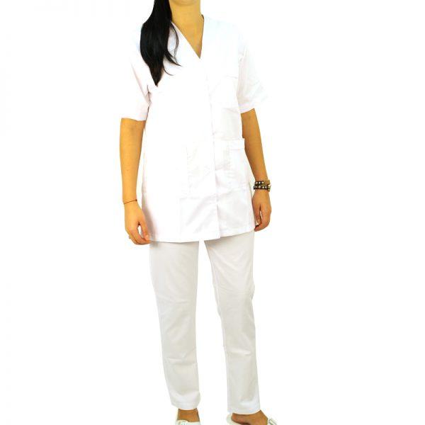 Costum medical alb unisex
