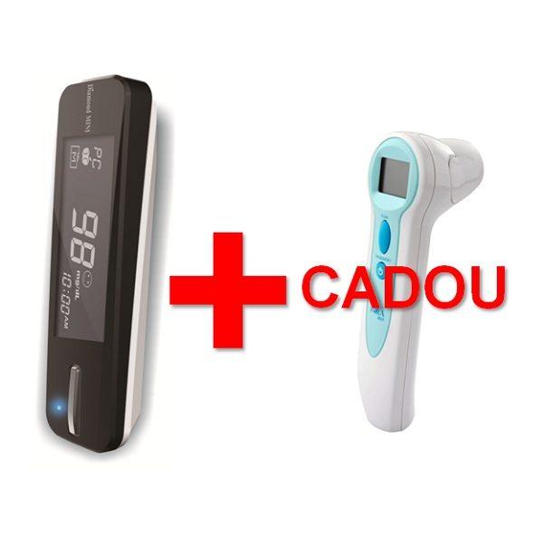 Glucometru Fora Diamond Mini + termometru cu infrarosii cadou