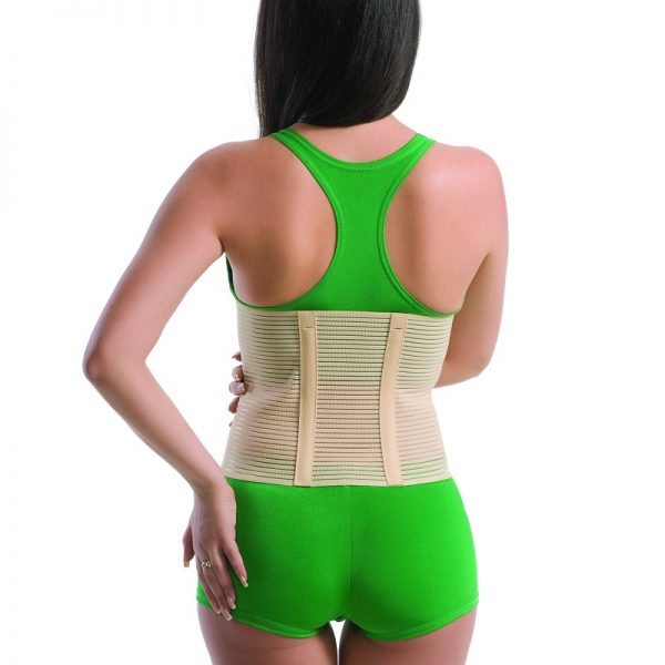 Orteza abdominala profilactica cu doua atele