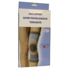 Orteza pentru genunchi cu insertie de silicon