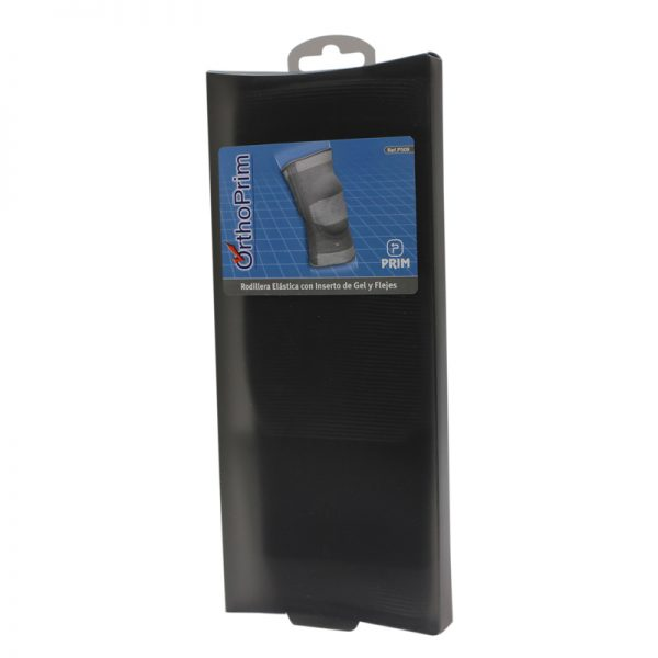 Orteza pentru genunchi cu insertie din silicon