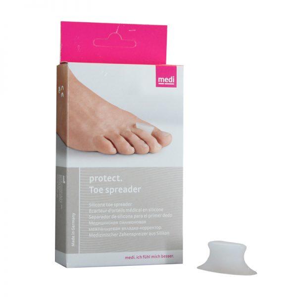 Orteza separatoare pentru degetele de la picioare