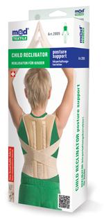 Orteza toracica elastica cu doua atele pentru copii