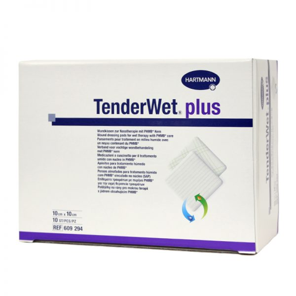 Pansament hidroactiv Tender wet plus 10x10