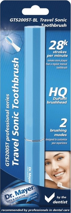 Periuta sonica pentru calatorie Sonic Toothbrush Albastra