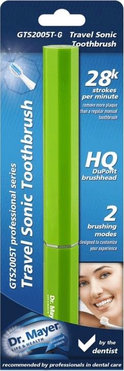 Periuta sonica pentru calatorie Sonic Toothbrush Verde