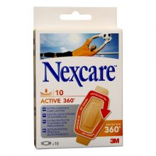 Plasturi Nexcare fara latex Active 360