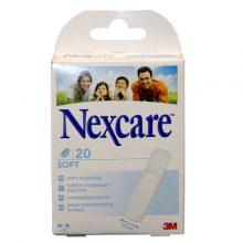 Plasturi Nexcare Soft Flexi 19x72 MM