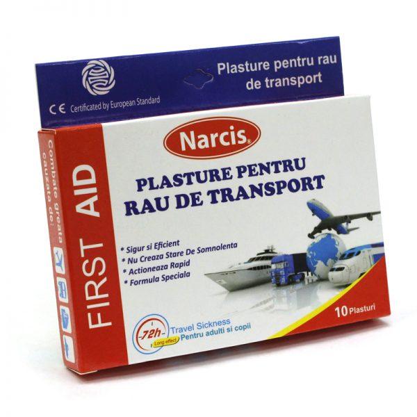 Plasturi pentru rau de transport