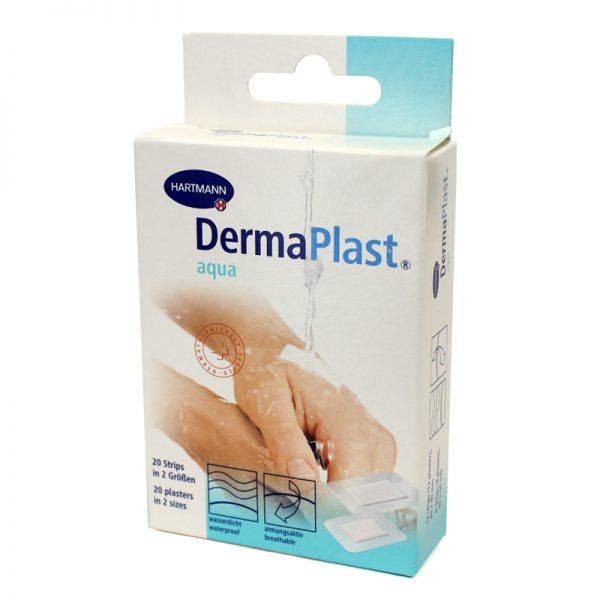 Plasturi rezistenti la apa DermaPlast Aqua