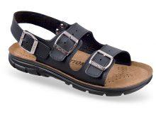 Sandale ortopedice negre OrtoMed