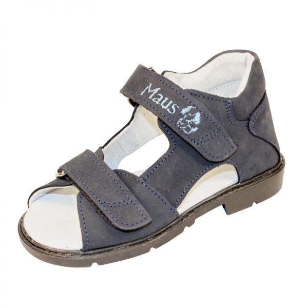 Sandale ortopedice pentru copii baieti albastre