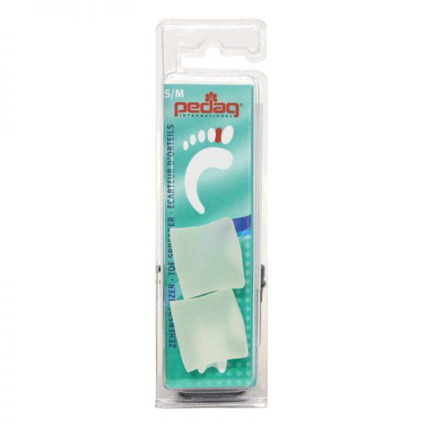 Separator pentru degetele de la picioare cu monturi pronuntate