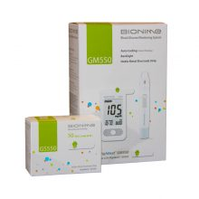 Set promo glucometru Bionime GM550+50 teste