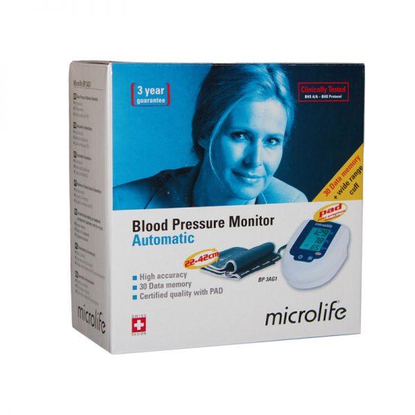 Tensiometru automat pentru masurarea tensiunii arteriale si a pulsului