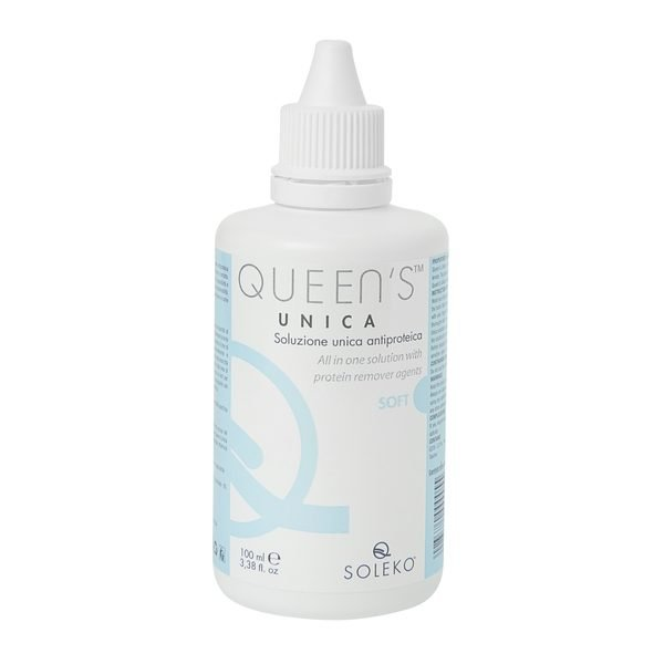 QUEENS UNICA solutie intretinere lentile de contact 100ml