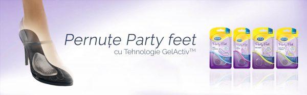 Scholl Party Feet pernite pentru bolta plantara