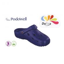 Saboti medicali barbatesti PodoWell Duflex albastru bleumarin