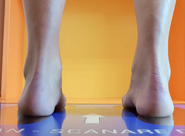 Talonete ortopedice personalizate din spuma cu memorie