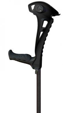 Carja reglabila pe inaltime si cu sprijin pe antebrat Access Comfort (neagra)