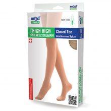 Ciorapi compresivi pana la coapsa, 15-20 mmHg