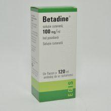 Betadine solutie externa 10% x 120 ml