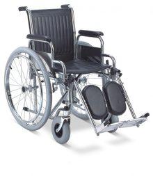 Fotoliu rulant cu suport reglabil pentru gambe