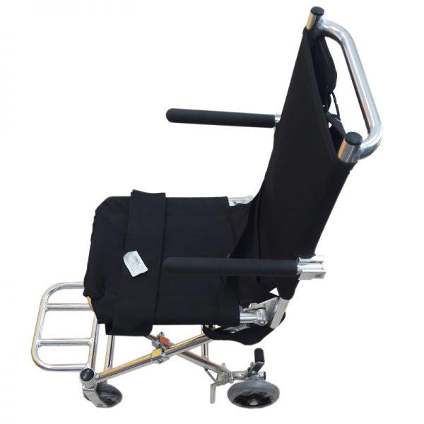 Scaun cu rotile pliabil