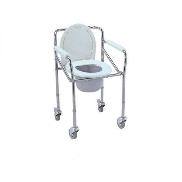 Scaun de toaleta cu roti