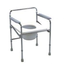 Scaun toaleta fix - fara spatar, cu sezut plastic