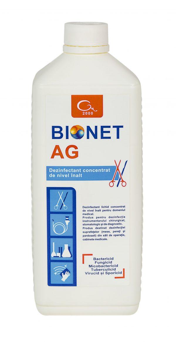 Bionet AG dezinfectant pentru instrumentar, 1 litru