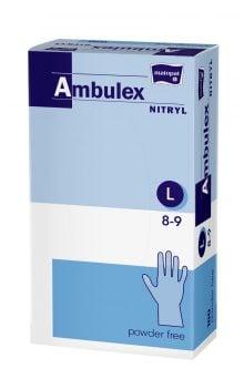 Ambulex manusi pentru examinare L nepudrate