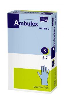 Ambulex manusi pentru examinare S nepudrate