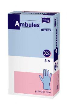 Ambulex manusi pentru examinare XS nepudrate