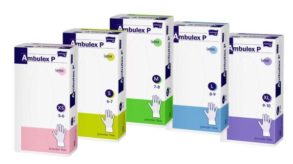 Ambulex P manusi pentru examinare XS nepudrate
