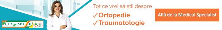 Sfatul medicului ortoped - catena pas cu pas - dr. gabriela soare
