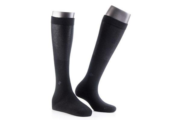 Ciorapi lungi pentru diabetici, 25% fir de argint pur
