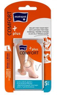 Comfort Plus Plasturi Nesterili Large 42x68 mm