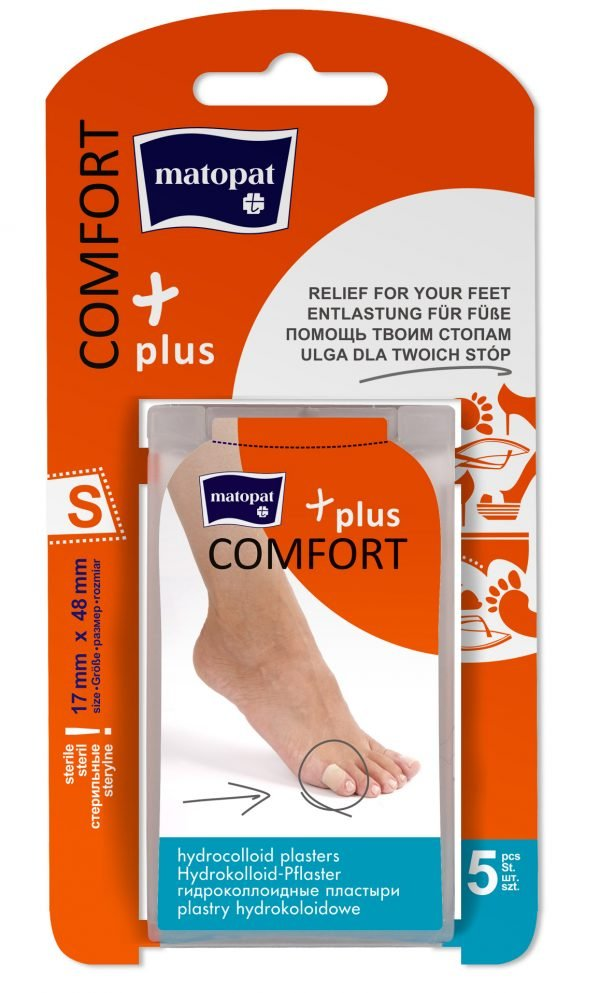 Comfort Plus Plasturi Sterili Small 17x48 mm